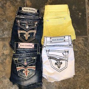 Super cute Rock Revival shorts